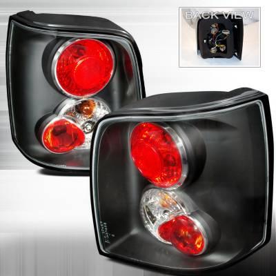 Spec-D - Volkswagen Passat Spec-D Altezza Taillights - Black - LT-PAS975JM-TM