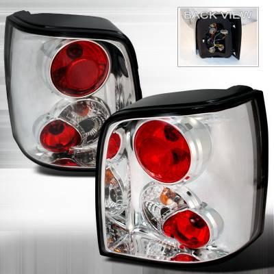 Spec-D - Volkswagen Passat Spec-D Altezza Taillights - Chrome - LT-PAS975-TM