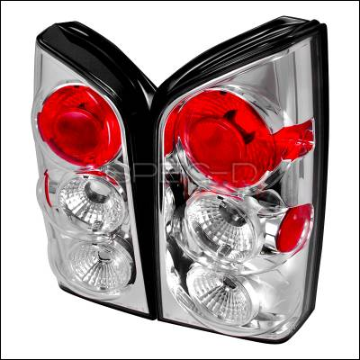 Spec-D - Nissan Pathfinder Spec-D Altezza Taillights - Chrome - LT-PATH05-TM