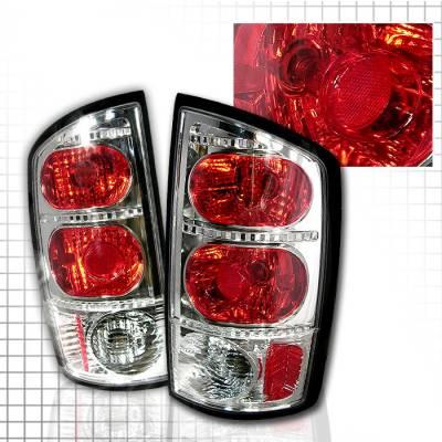 Spec-D - Dodge Ram Spec-D Altezza Taillights - Chrome - LT-RAM02-KS