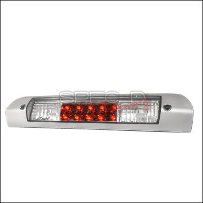 Spec-D - Dodge Ram Spec-D LED Third Brake Lights - Chrome - LT-RAM02RBCSLED-APC