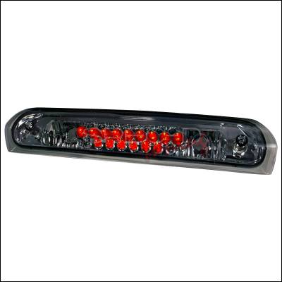 Spec-D - Dodge Ram Spec-D LED Third Brake Lights - Smoke - LT-RAM02RBGLED-KS