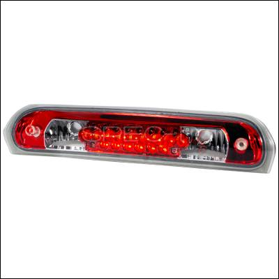 Spec-D - Dodge Ram Spec-D LED Third Brake Lights - Red - LT-RAM02RBRLED-KS
