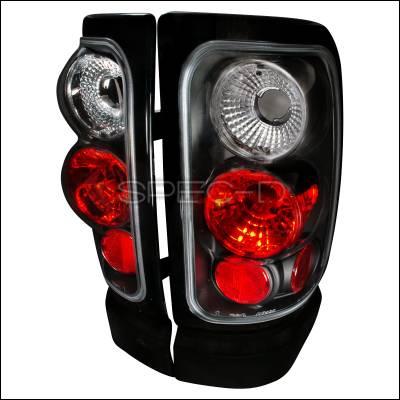 Spec-D - Dodge Ram Spec-D Altezza Taillights - Black - LT-RAM94JM-TM