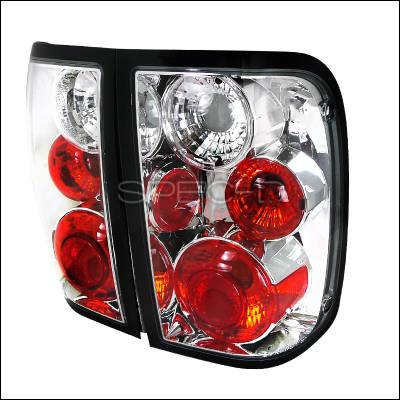 Spec-D - Ford Ranger Spec-D Altezza Taillights - Chrome - LT-RAN01-TM
