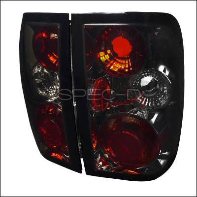 Spec-D - Ford Ranger Spec-D Altezza Taillights - Smoke - LT-RAN93G-TM