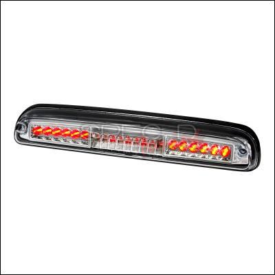 Spec-D - Ford Ranger Spec-D LED Third Brake Lights - Chrome - LT-RAN93RBCLED-KS