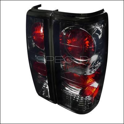 Spec-D - Chevrolet S10 Spec-D Euro Tailights - Smoked Lens - LT-S1082G-APC