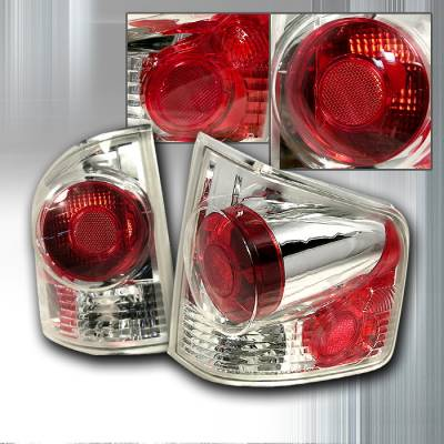 Spec-D - Chevrolet S10 Spec-D Altezza Taillights - Chrome - LT-S10943D-KS