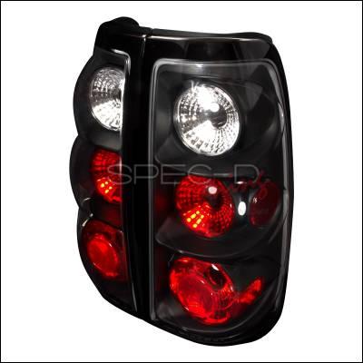 Spec-D - Chevrolet Silverado Spec-D Altezza Taillights - Black - LT-SIV03JM-TM