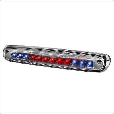 Spec-D - Chevrolet Silverado Spec-D LED Third Brake Lights - Chrome - LT-SIV07RBCLED-CY