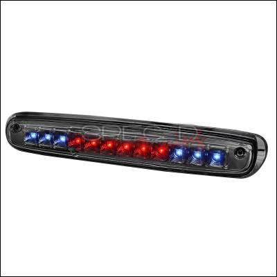 Spec-D - Chevrolet Silverado Spec-D LED Third Brake Lights - Smoke - LT-SIV07RBGLED-CY