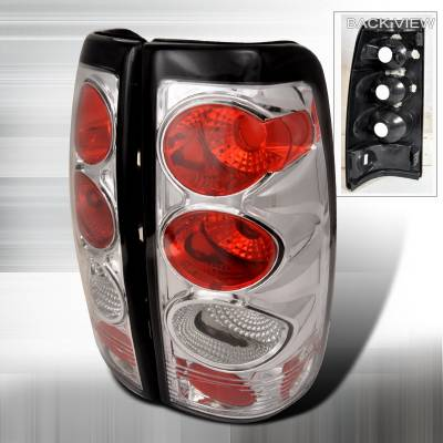Spec-D - Chevrolet Silverado Spec-D Altezza Taillights - Chrome - LT-SIV99-KS