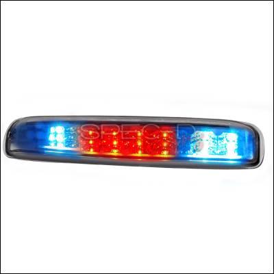 Spec-D - Chevrolet Silverado Spec-D LED Taillights - Chrome - LT-SIV99RBCLED-TM