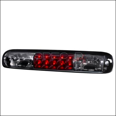 Spec-D - Chevrolet Silverado Spec-D LED Third Brake Lights - Smoke - LT-SIV99RBGLED-APC
