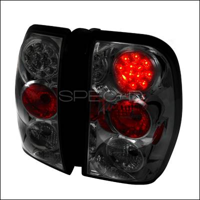 Spec-D - Chevrolet Trail Blazer Spec-D LED Taillights - Smoke - LT-TBLZ02GLED-TM