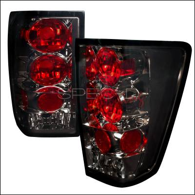 Spec-D - Nissan Titan Spec-D Altezza Taillights - Smoke - LT-TIT04G-TM