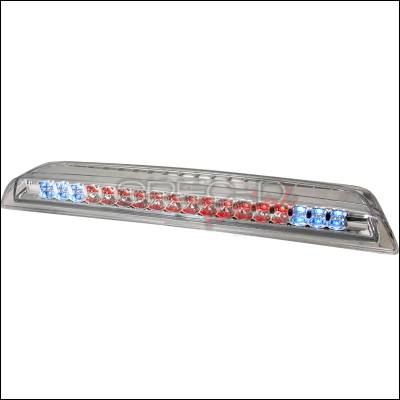 Spec-D - Nissan Titan Spec-D LED Third Brake Lights - Chrome - LT-TIT04RBCLED-CY