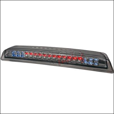 Spec-D - Nissan Titan Spec-D LED Third Brake Lights - Smoke - LT-TIT04RBGLED-CY