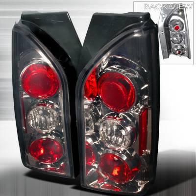 Spec-D - Nissan Xterra Spec-D Altezza Taillights - Smoke - LT-XTE05G-TM