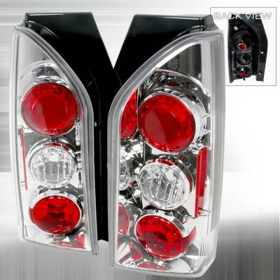 Spec-D - Nissan Xterra Spec-D Altezza Taillights - Chrome - LT-XTE05-TM