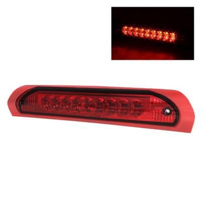 Spyder - Dodge Ram Spyder LED 3RD Brake LighT-Red - BKL-DR02-LED-RD
