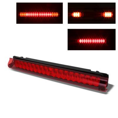 Spyder - Ford F150 Spyder LED 3RD Brake LighT-Red - BKL-FF15097-LED-G2-RD