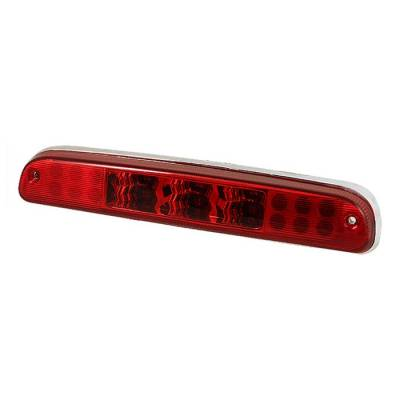 Spyder - Ford F250 Spyder LED 3RD Brake LighT-Red - BKL-FF25097-LED-RD