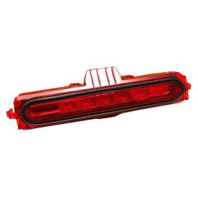 Spyder - Acura RSX Spyder LED 3RD Brake LighT-Red - BL-CL-ARSX02-LED-RD