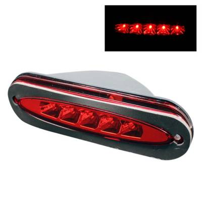 Spyder - Dodge Neon Spyder LED 3RD Brake LighT-Red - BL-CL-DN95-RD