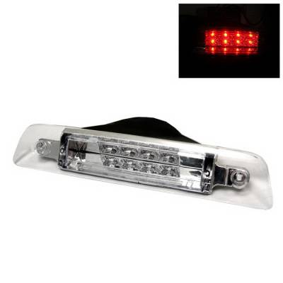 Spyder Auto - Toyota 4Runner Spyder LED Third Brake Light - Chrome - BL-CL-T4R96-LED-C