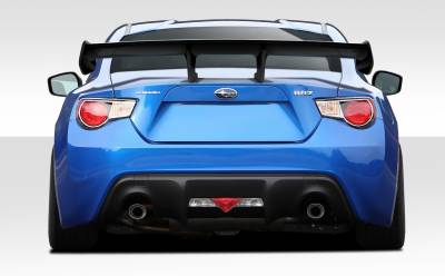 Extreme Dimensions 16 - Scion FRS Duraflex Zeus 1600mm Wing Trunk Lid Spoiler - 1 Piece - 109628