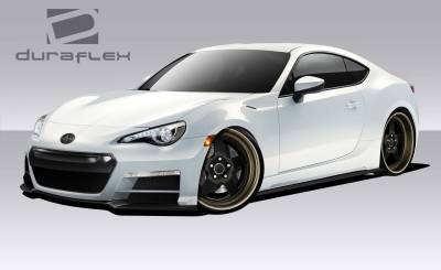 Extreme Dimensions 16 - Scion FRS Duraflex 86-R Body Kit - 4 Piece - 109052
