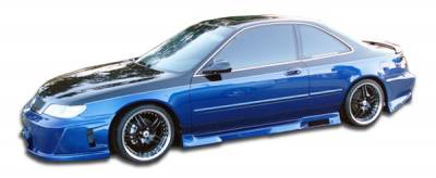 Extreme Dimensions - Honda Accord Duraflex Spyder Side Skirts Rocker Panels - 2 Piece - 101448