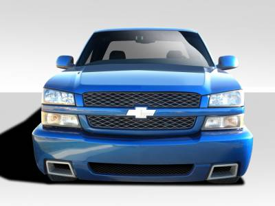 Extreme Dimensions 16 - Chevrolet Avalanche Duraflex SS Look Front Bumper Cover - 1 Piece - 109535