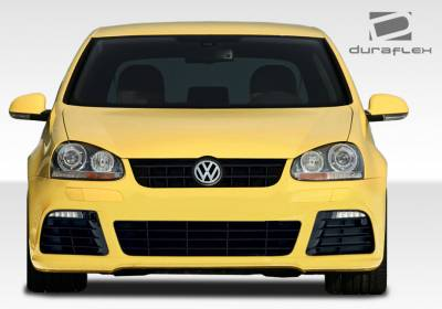 Extreme Dimensions 16 - Volkswagen Golf GTI Duraflex R Look Front Bumper Cover - 1 Piece - 108158