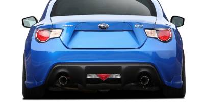 Extreme Dimensions - Subaru BRZ Couture Vortex Rear Add Ons - 2 Piece - 112379