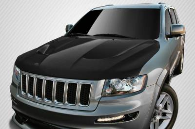 Carbon Creations - Jeep Grand Cherokee Carbon Creations SRT8 Look Hood - 1 Piece - 112331