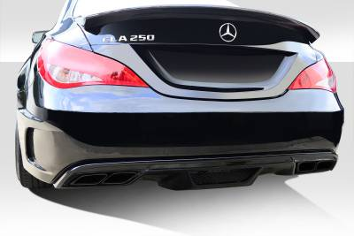 Extreme Dimensions - Mercedes-Benz CLA Duraflex Black Series Look Wide Body Rear Bumper Cover - 1 Piece - 112013