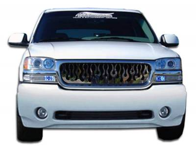 Extreme Dimensions 16 - GMC Sierra Duraflex Denali Style Front Bumper Cover - 1 Piece - 103055