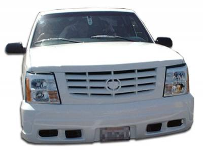 Extreme Dimensions - Chevrolet Tahoe Duraflex Escalade Conversion Front Bumper Cover With Grille - 1 Piece - 103033