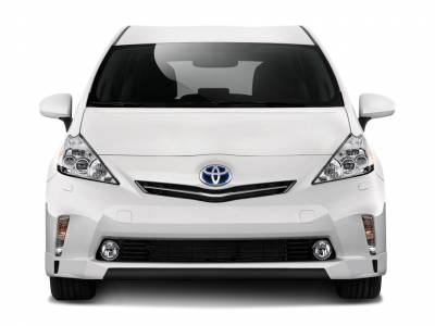 Couture - Toyota Prius Couture Vortex Front Lip Under Air Dam Spoiler - 1 Piece - 112371