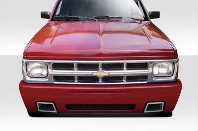 Extreme Dimensions 16 - Chevrolet Blazer Duraflex SS Look Front Bumper Cover - 1 Piece - 109520