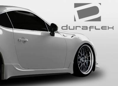 Extreme Dimensions - Subaru BRZ Duraflex TD3000 Side Skirts Rocker Panels - 2 Piece - 108515