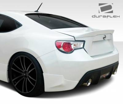 Extreme Dimensions - Subaru BRZ Duraflex X-5 Rear Add On Bumper Extensions - 2 Piece - 108488