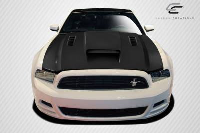 Extreme Dimensions 16 - Ford Mustang Carbon Creations CV-X Hood - 1 Piece - 106262