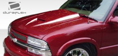 Extreme Dimensions - GMC Jimmy Duraflex Ram Air Hood - 1 Piece - 103018
