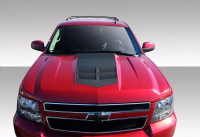 Extreme Dimensions - Chevrolet Suburban Duraflex ZL1 Look Hood - 1 Piece - 108495