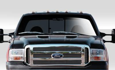 Extreme Dimensions 16 - Ford Excursion Duraflex CV-X Version 2 Hood - 1 Piece - 109248