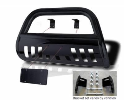 Black Horse - Honda CRV Black Horse Modular Push Bar Guard